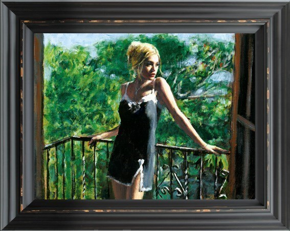 Image: Sally in the Sun by Fabian Perez | Hand Finished Limited Edition on Canvas
